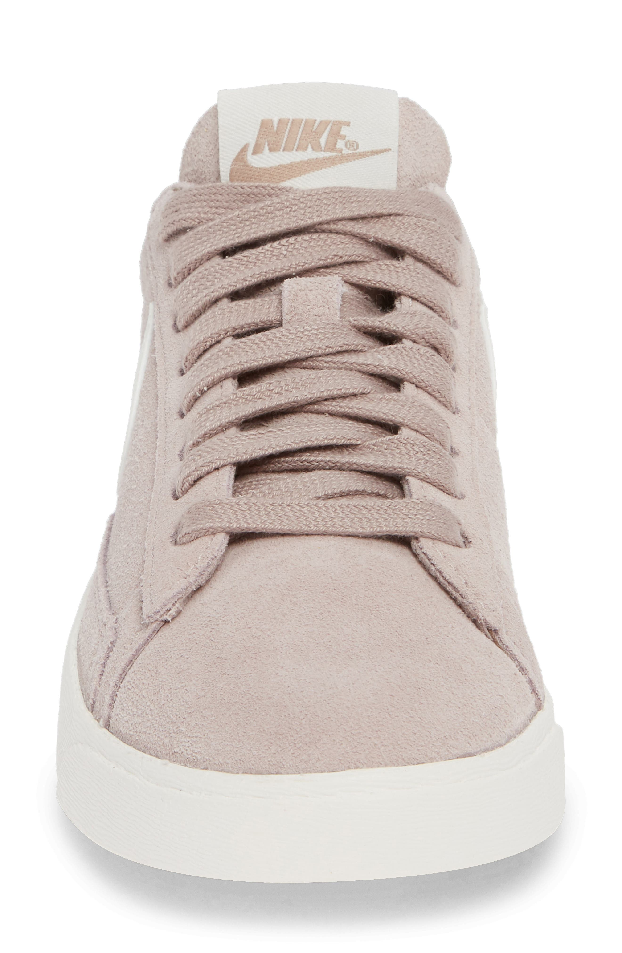 Blazer Low Sneaker,                             Alternate thumbnail 5, color,                             Diffused Taupe/ Sail