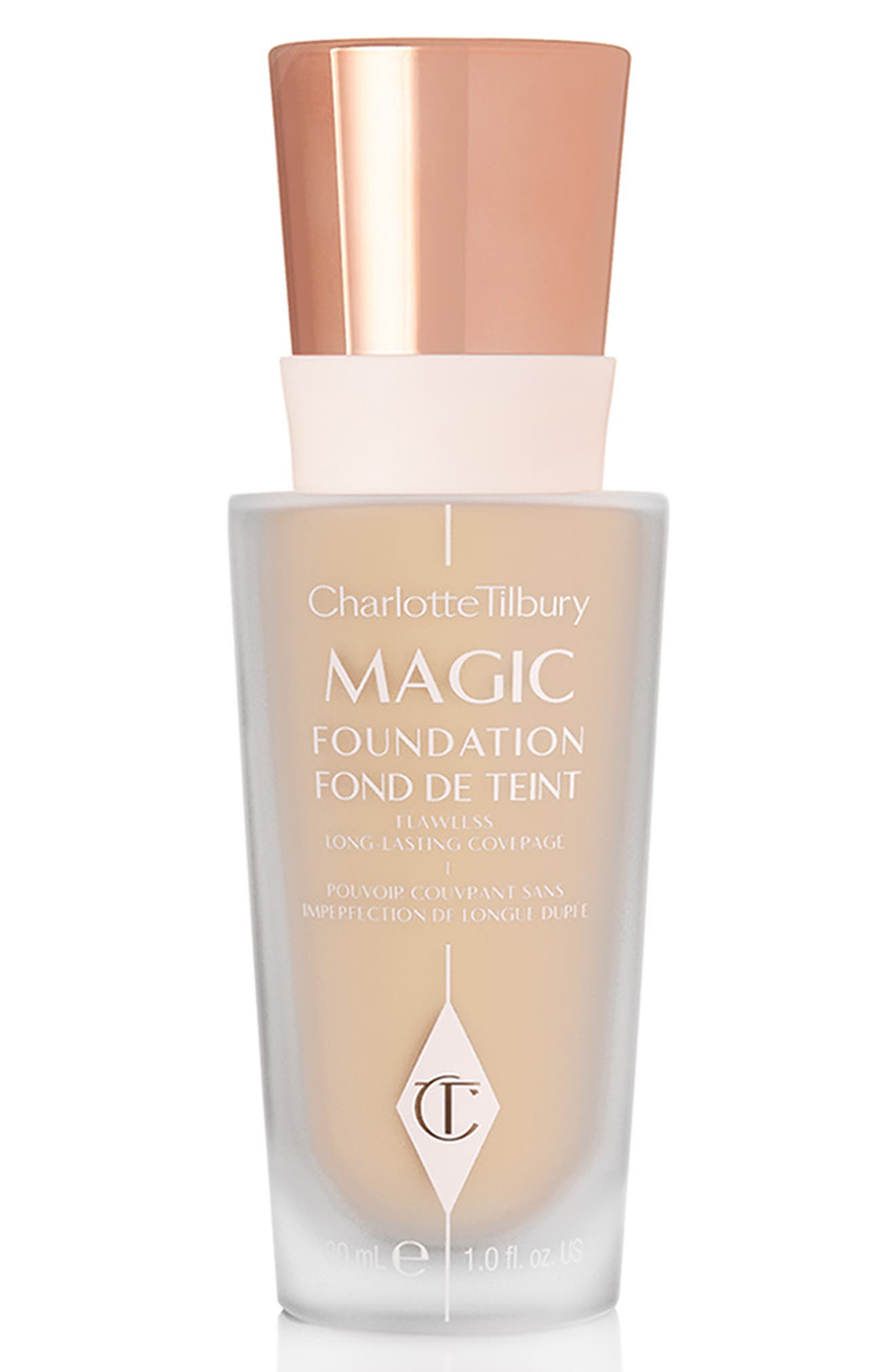 CHARLOTTE TILBURY MAGIC FOUNDATION BROAD SPECTRUM SPF 15 - 4 FAIR
