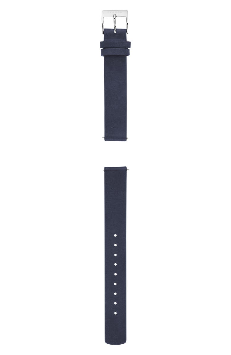 Skagen LEATHER WATCH STRAP, 14MM