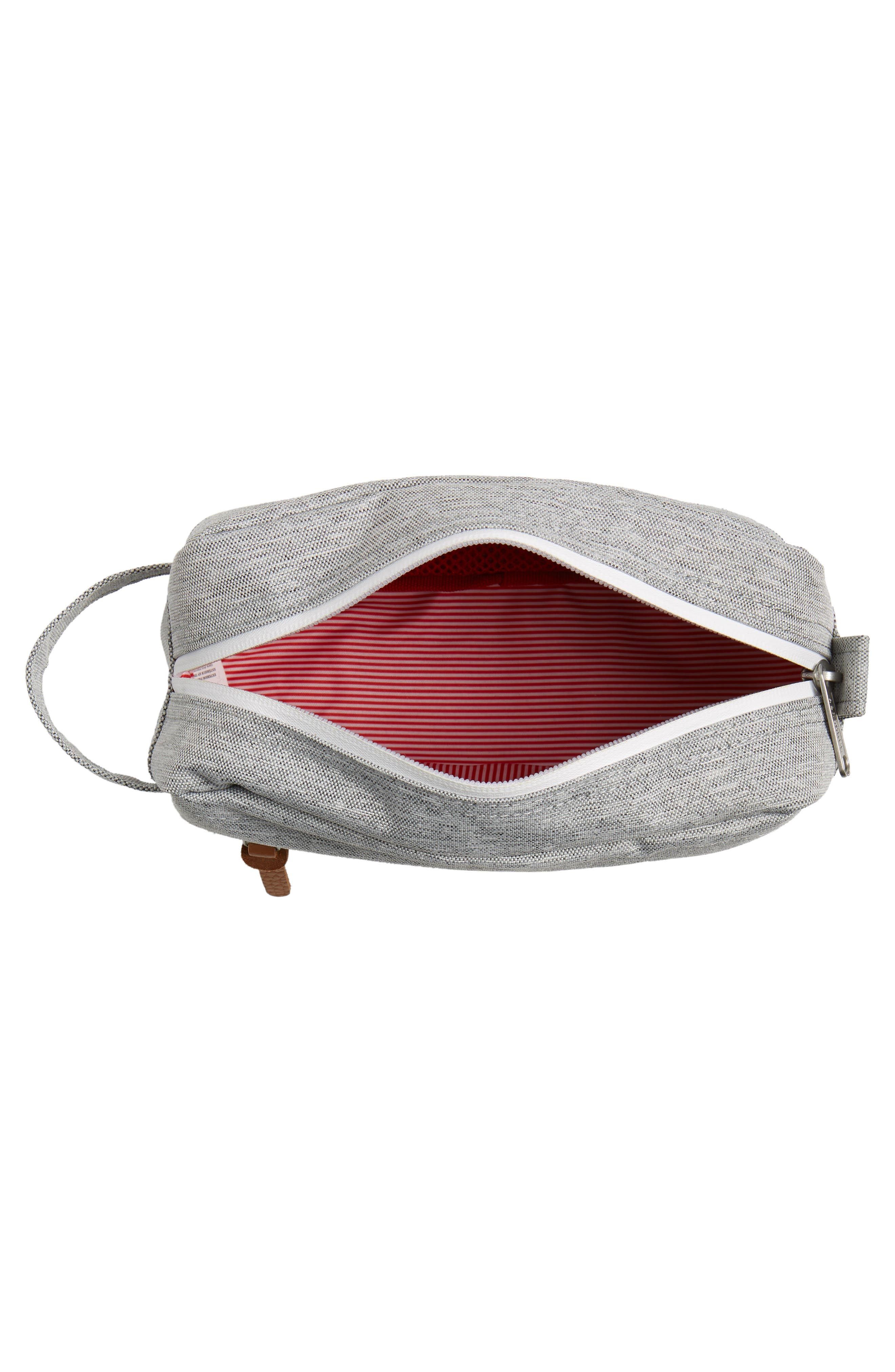 Chapter Carry-On Travel Kit,                             Alternate thumbnail 4, color,                             Light Grey Crosshatch