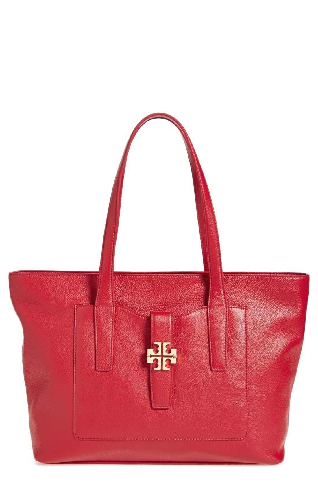 Alternate Image 1 Selected - Tory Burch 'Plaque' Tote