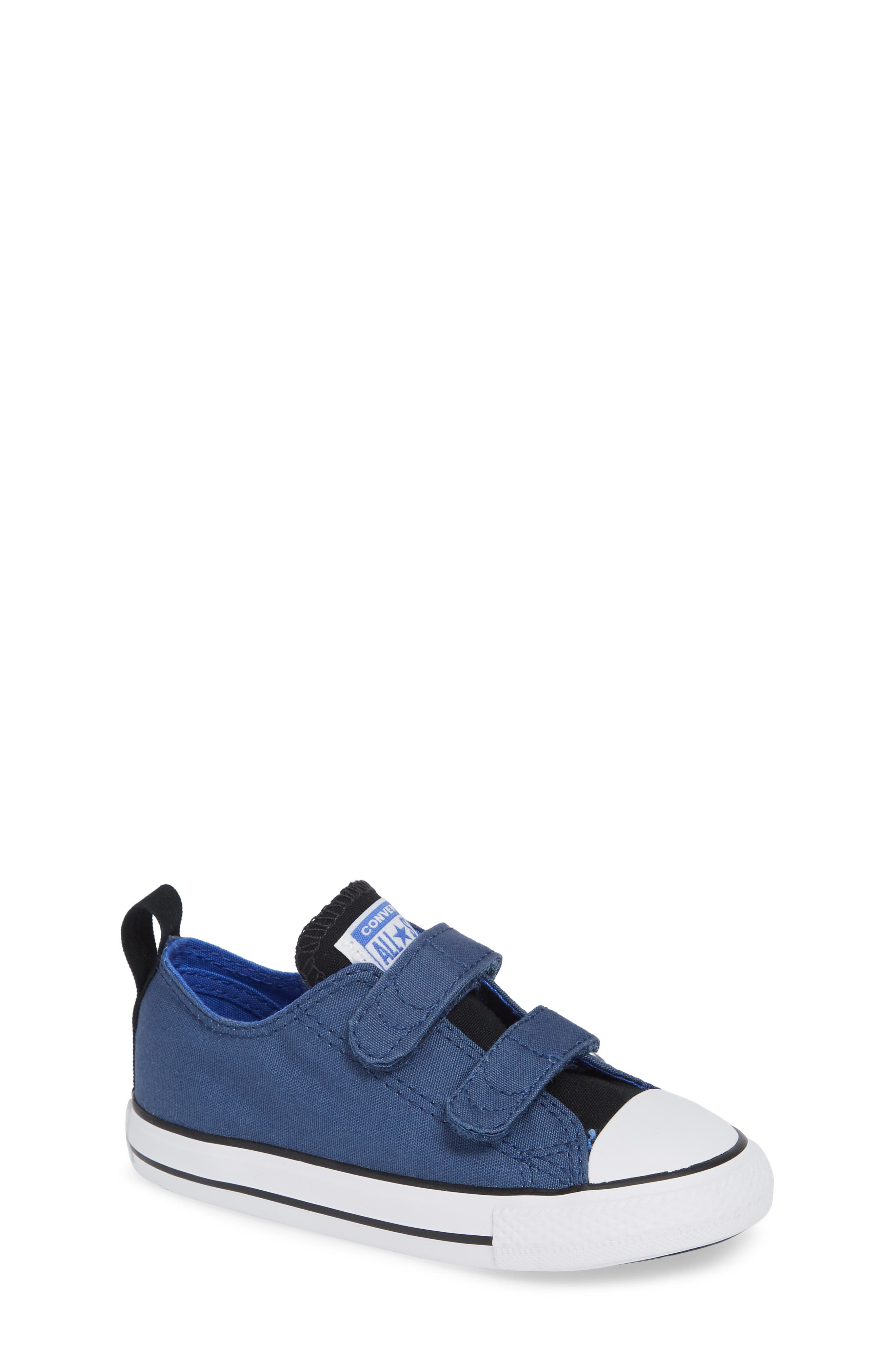 Chuck Taylor<sup>®</sup> 'Double Strap' Sneaker,                             Main thumbnail 1, color,                             Mason Blue
