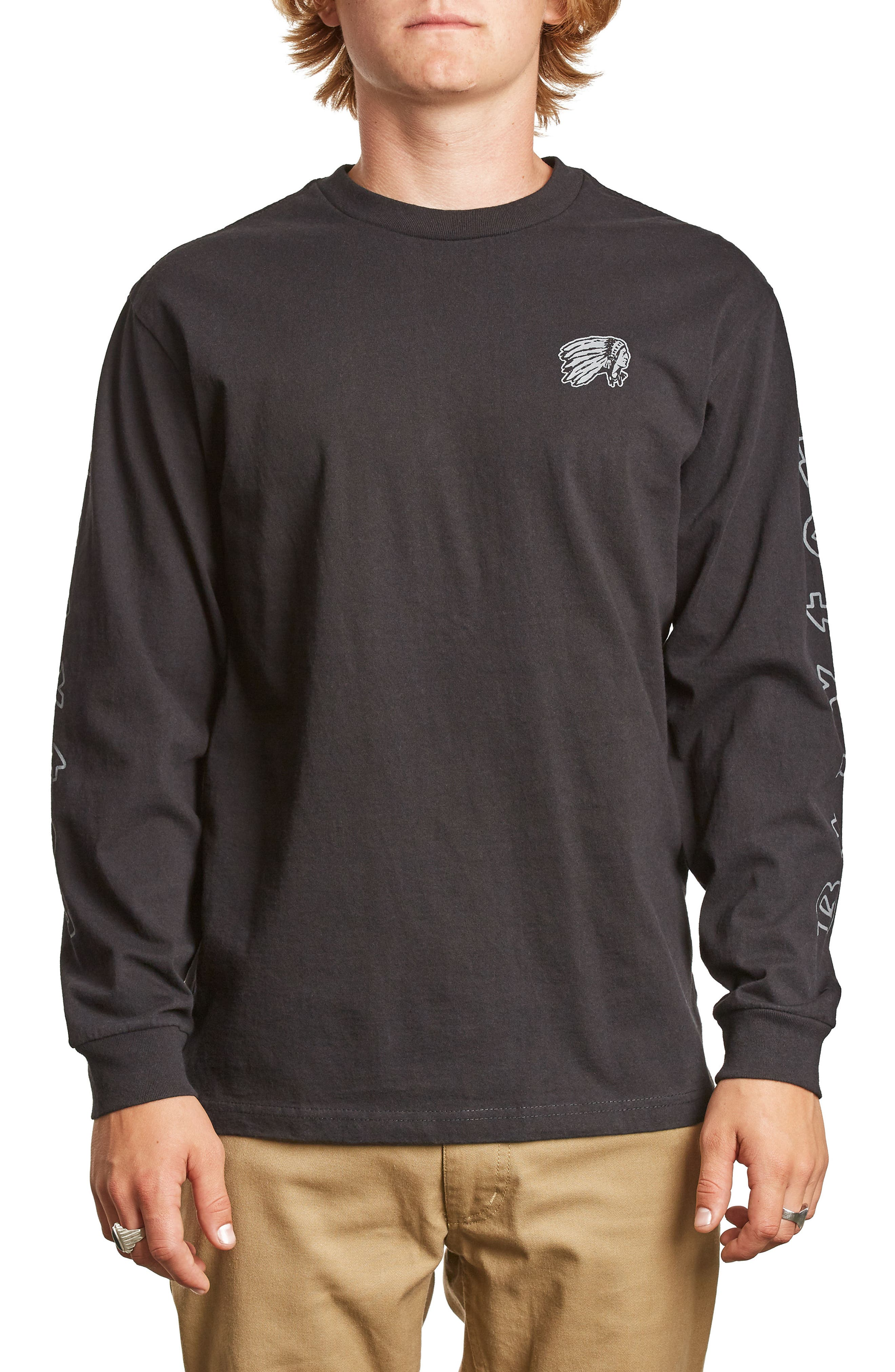 Primo T-Shirt,                             Main thumbnail 1, color,                             Washed Black