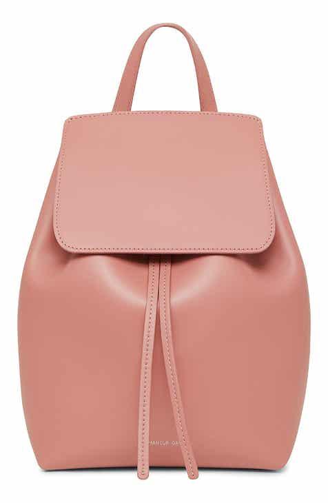 cd450eda02 Mansur Gavriel Mini Leather Backpack