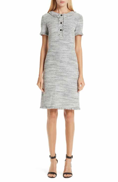 St. John Collection Eaton Place Tweed Knit Dress by ST. JOHN COLLECTION