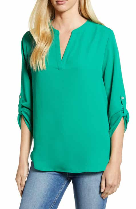 c0a4520973f49 Everleigh Roll-Tab Sleeve Tunic