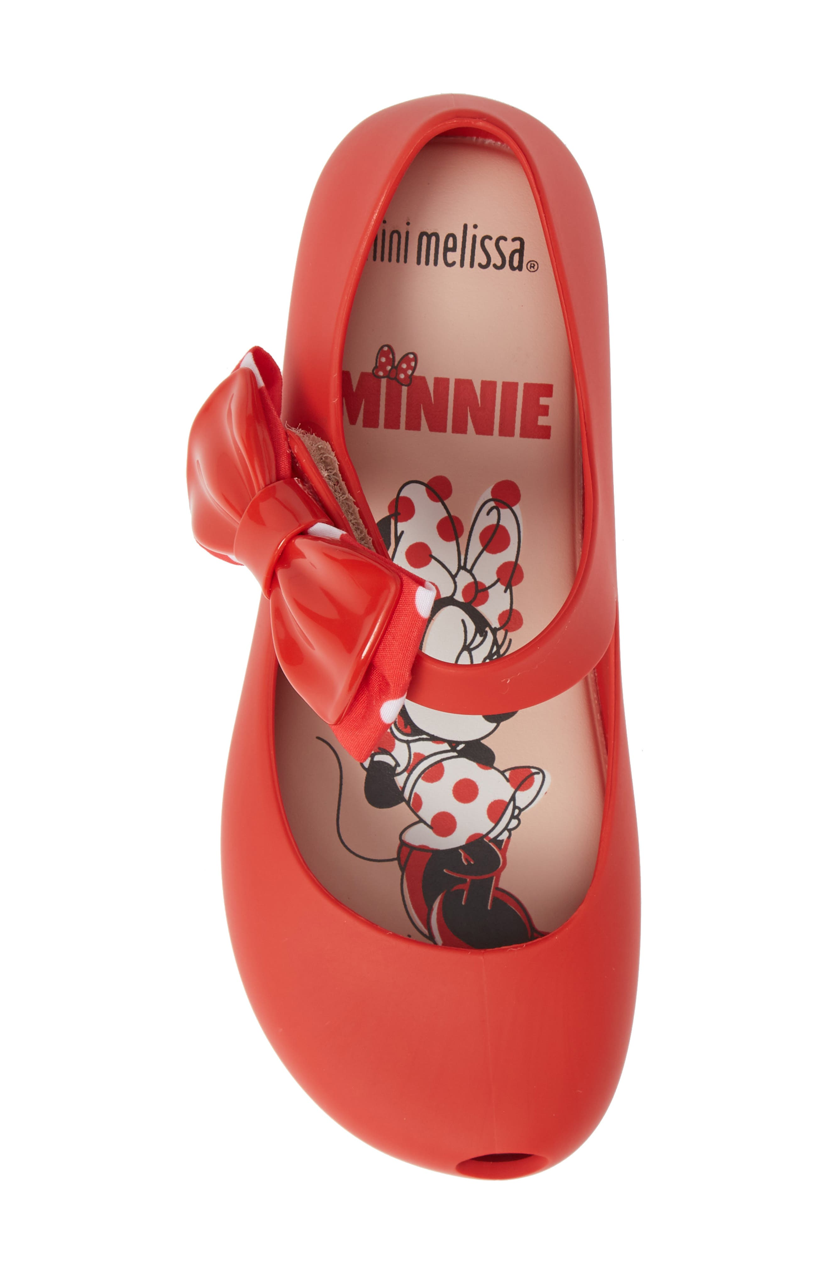 Ultragirl Minnie Mouse<sup>®</sup> II Mary Jane,                             Alternate thumbnail 3, color,                             Red