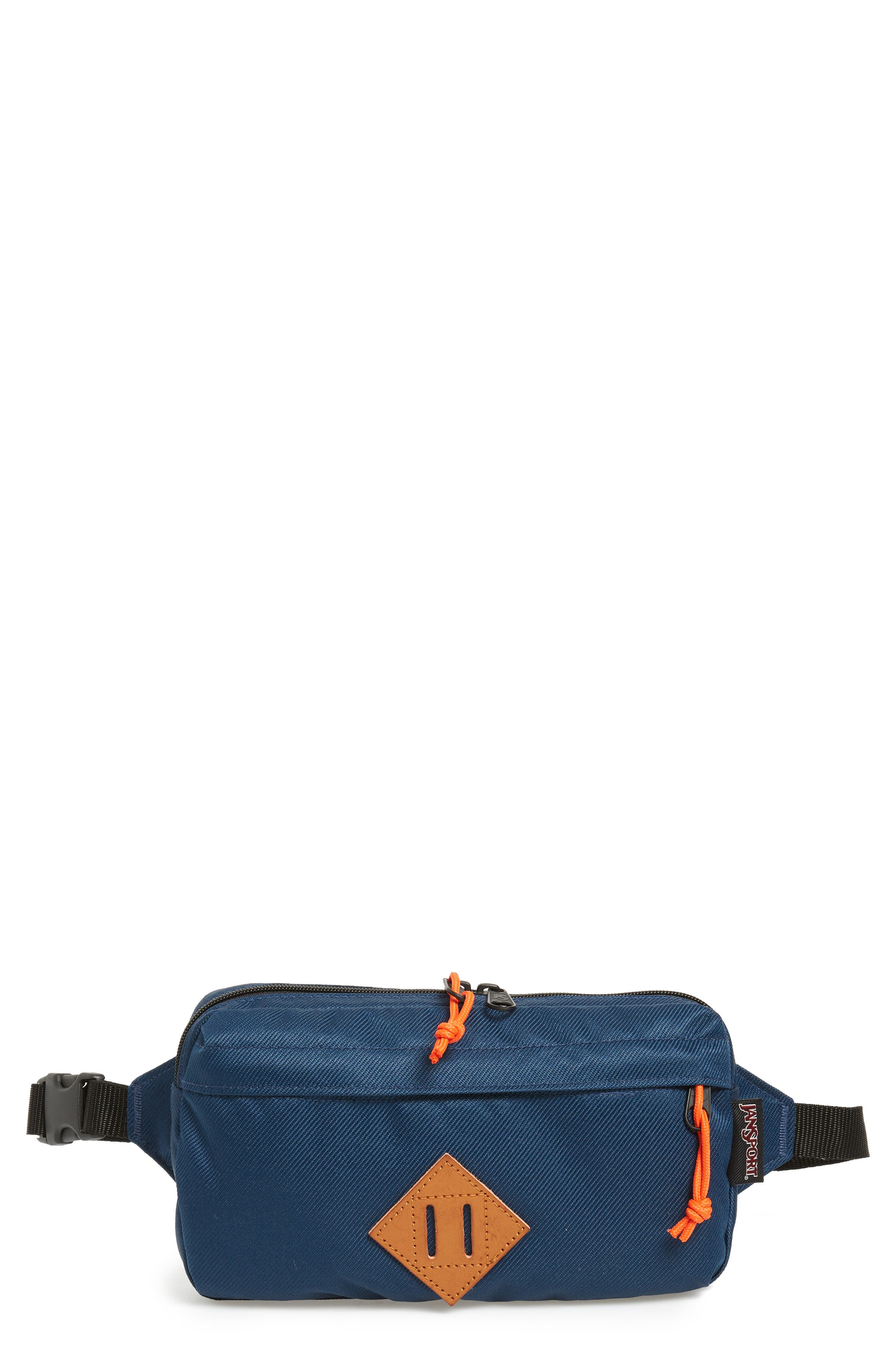 JANSPORT WAISTED BELT BAG - BLUE