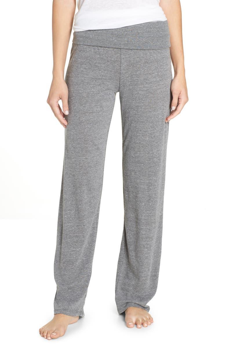 Eco Fold-Over Waist Lounge Pants