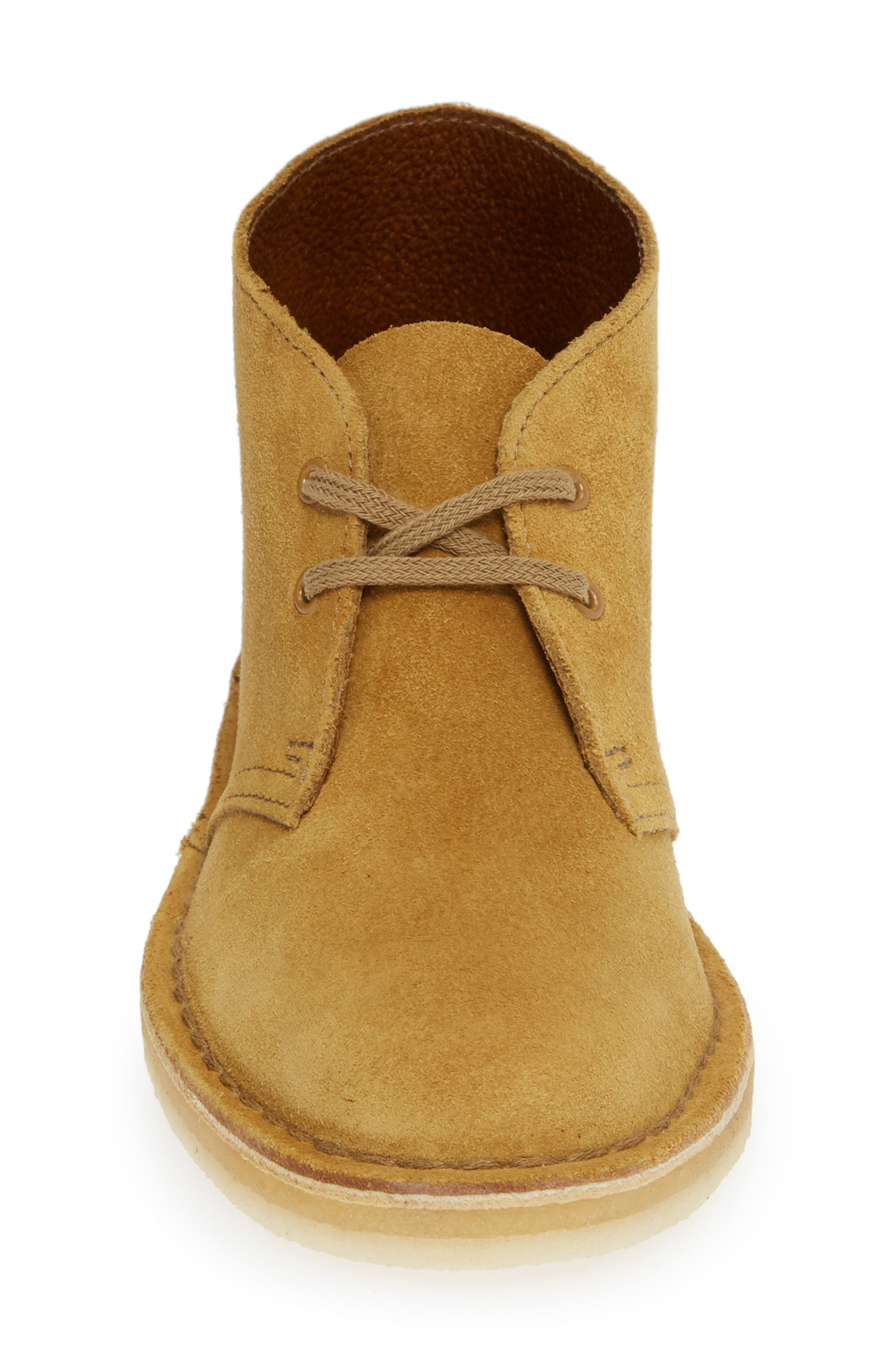 Desert Bootie,                             Alternate thumbnail 5, color,                             Oak Suede
