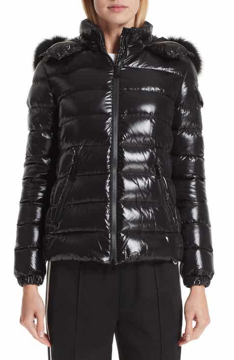 3d9eaad63dd7 Moncler Badyfur Down Puffer Jacket with Detachable Genuine Fox Fur Trim