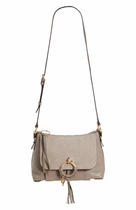 e4f032965b1b See by Chloé Small Joan Suede   Leather Crossbody Bag