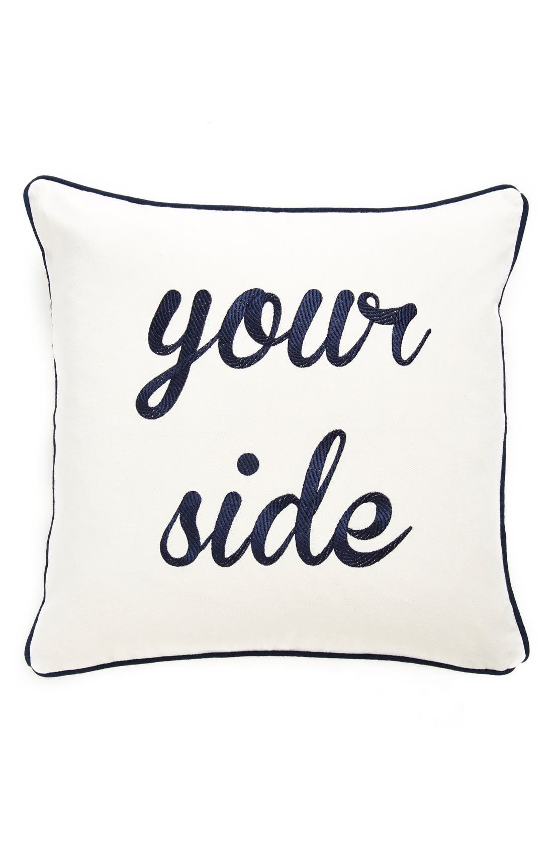 Alternate Image 1 Selected - Levtex 'My Side/Your Side' Pillow