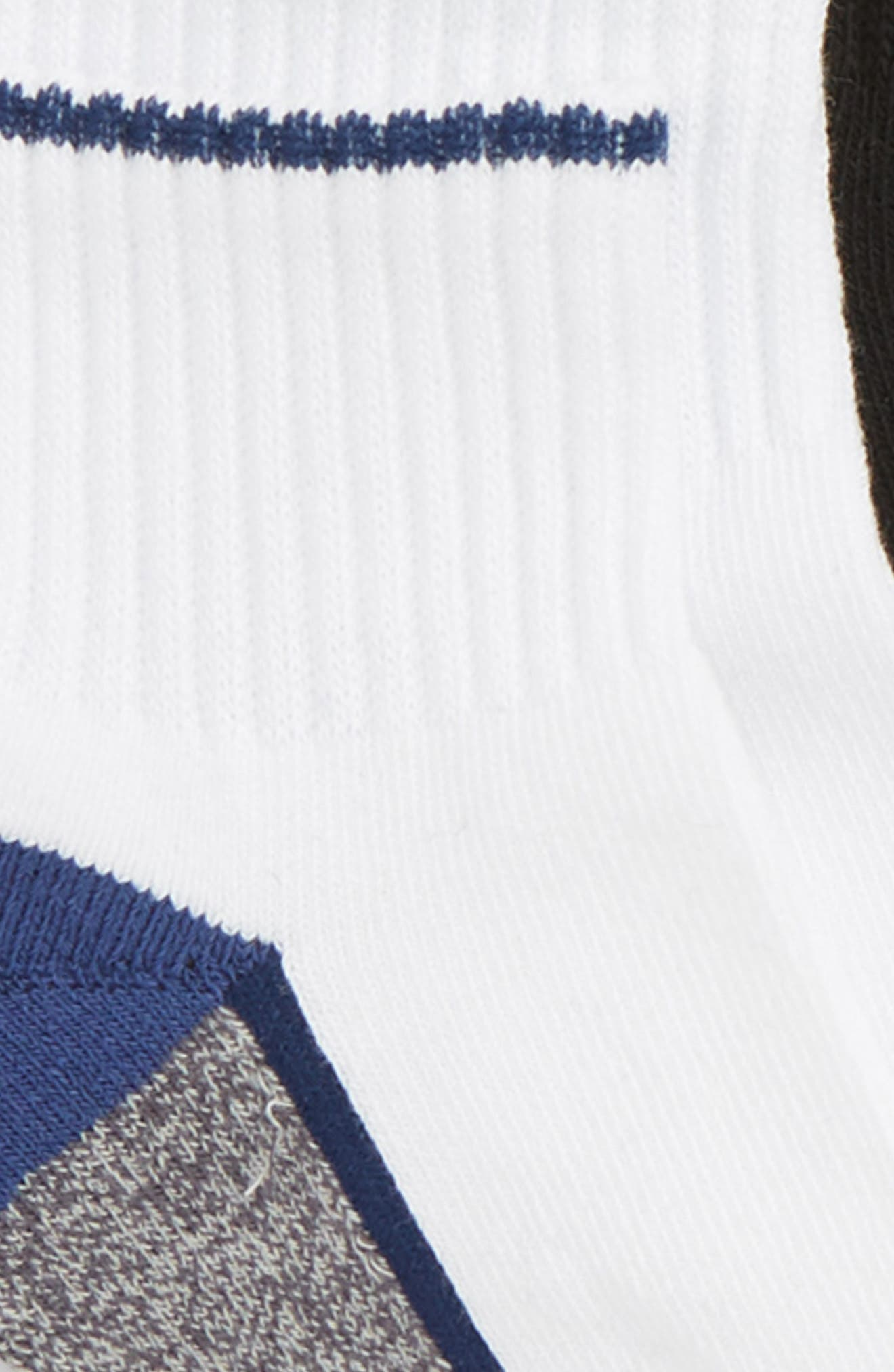 6-Pack Active Quarter Socks,                             Alternate thumbnail 2, color,                             Twilight Blue Multi