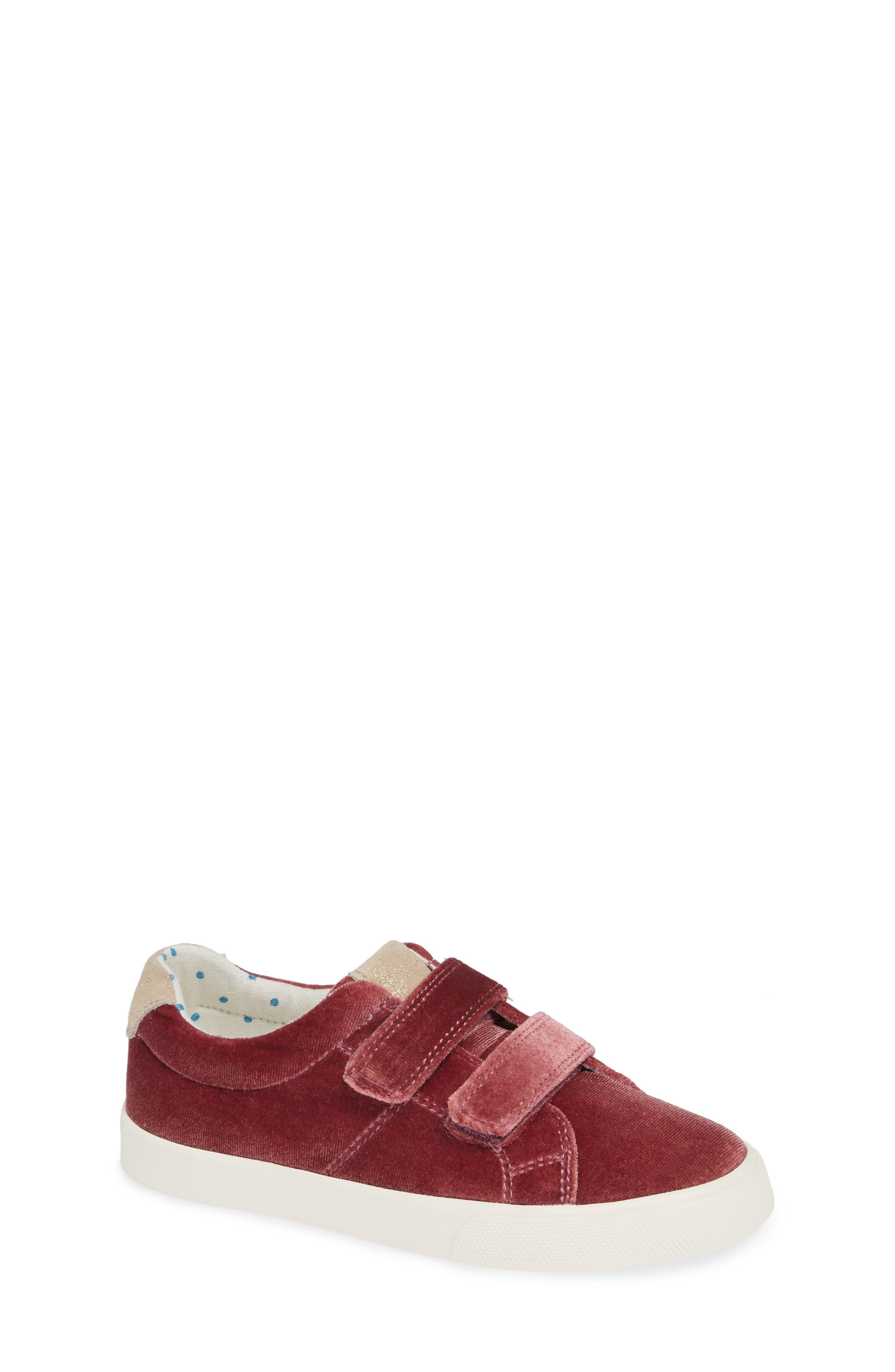 Mini Boden Fun Low Top Sneaker,                             Main thumbnail 1, color,                             Deep Berry