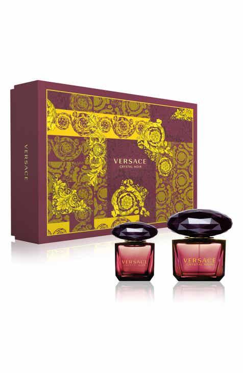 Versace Crystal Noir Eau De Toilette Set 152 Value