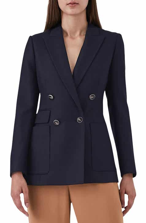 Dolce&Gabbana Double Breasted Stretch Wool Blend Jacket by DOLCE AND GABBANA