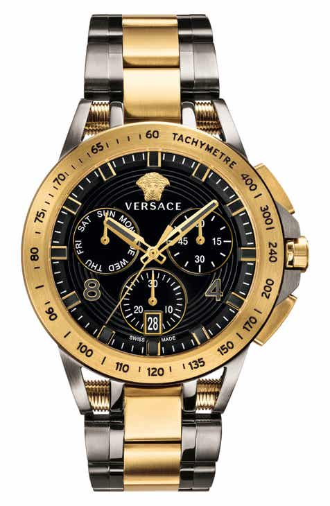 d4d05b665d Versace Sport Tech Chronograph Bracelet Watch, 45mm