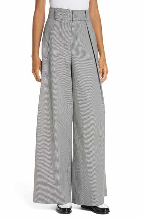 0904e62dbd4 Opening Ceremony Houndstooth Wide Leg Trousers