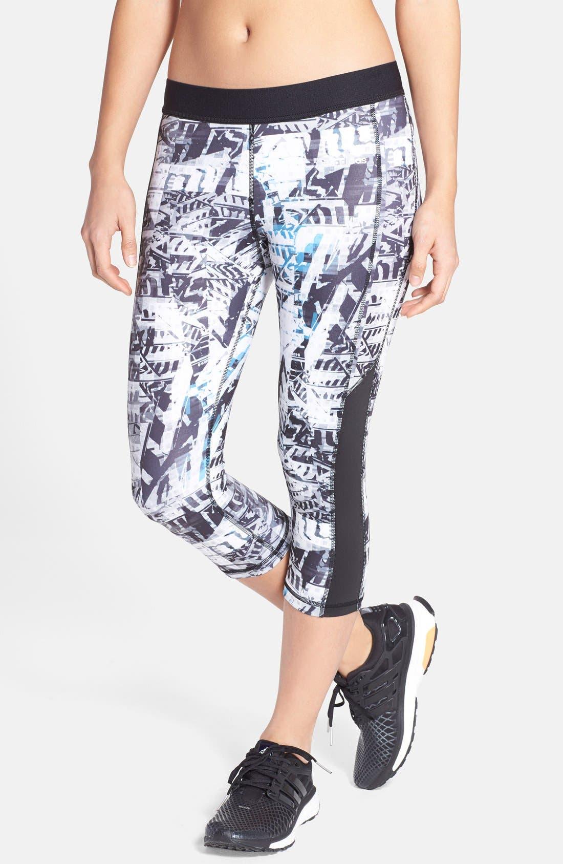 Main Image - adidas 'Urban Wild' Print Capris
