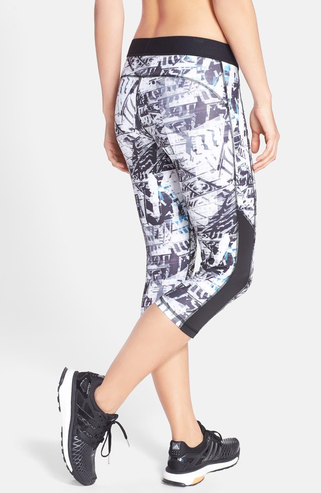 Alternate Image 2  - adidas 'Urban Wild' Print Capris