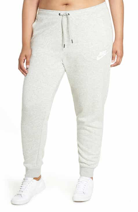 Nike Sportswear Rally High Rise Jogger Pants (Plus Size) by NIKE