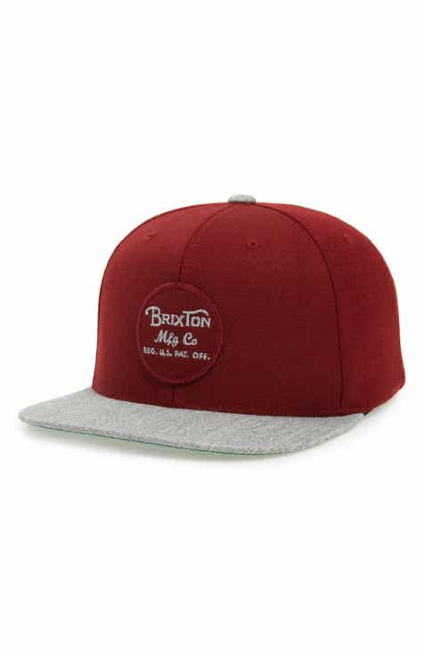 98296b00661 Brixton  Wheeler  Snapback Cap