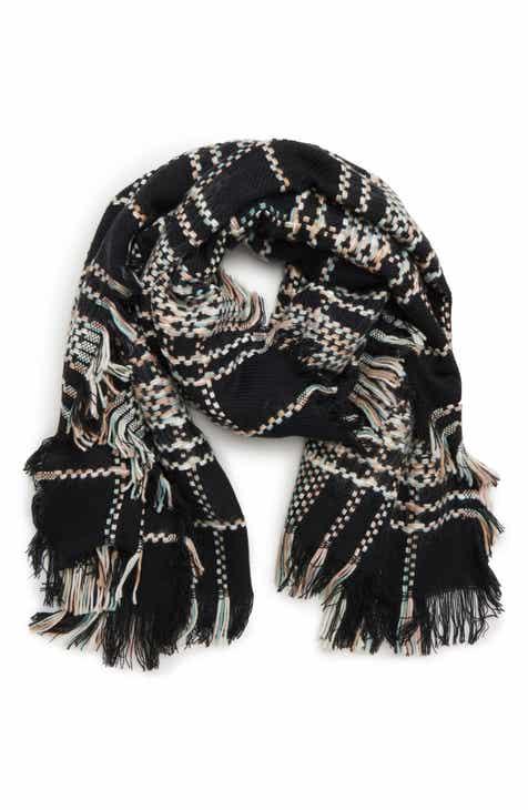 Black Scarves Wraps Ponchos Nordstrom
