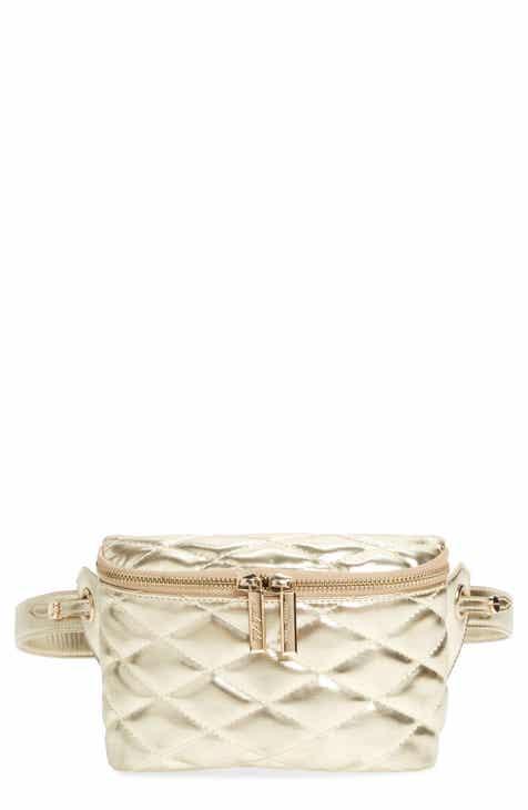 Mali + Lili Faye Vegan Leather Quilted Belt Bag 80f883c24924f