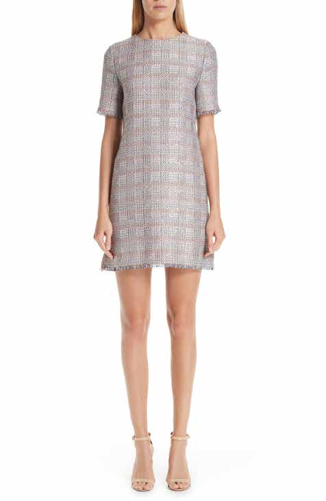 Emporio Armani Check Woven Dress