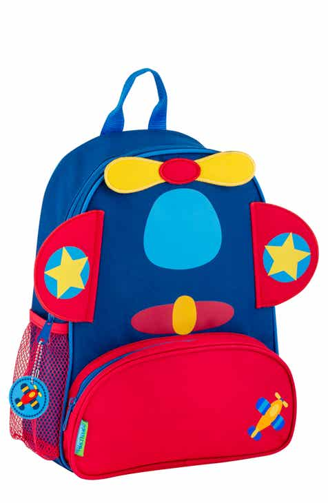 f368fd02ad2c Stephen Joseph Airplane Sidekick Backpack   Lunch Pal (Kids)