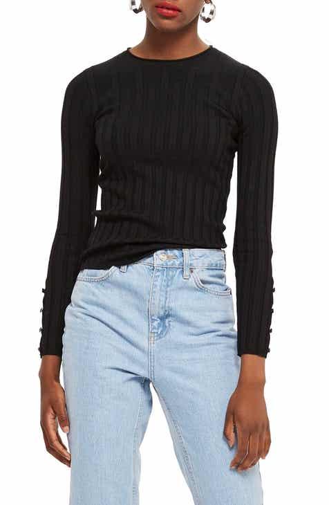 Women s Black Sweaters  ef0c126b5