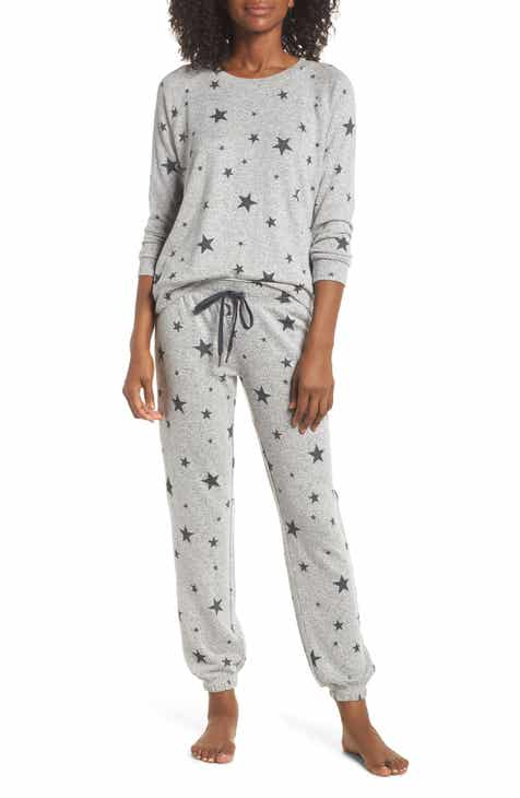 pj salvage just peachy jogger pajamas