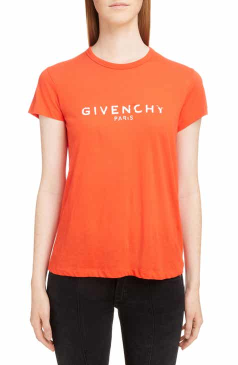 f2425966ee64 Givenchy Distressed Logo Tee