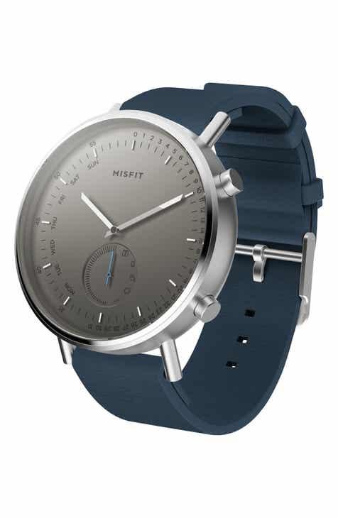 7771b76a817b Misfit Command Hybrid Silicone Strap Smart Watch
