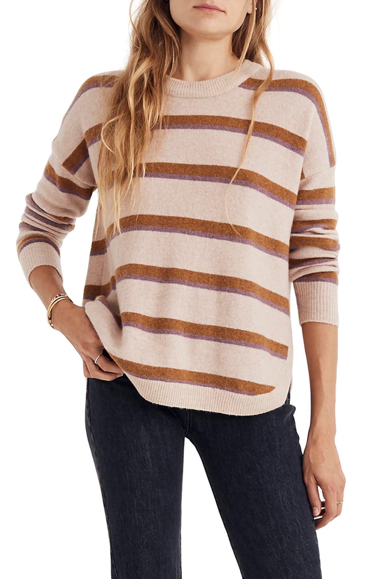 Westlake regular Striped Sweater Pullover Yarn Size In Coziest Madewell amp; Plus 7wZBq7