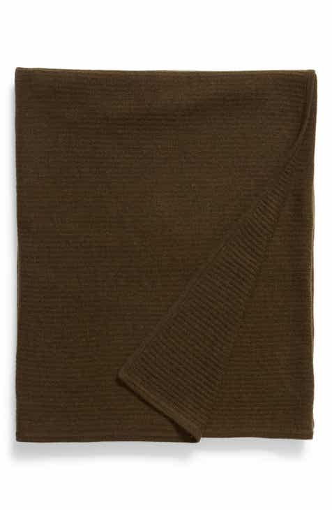 db5b402027d Nordstrom Signature Ribbed Cashmere Throw