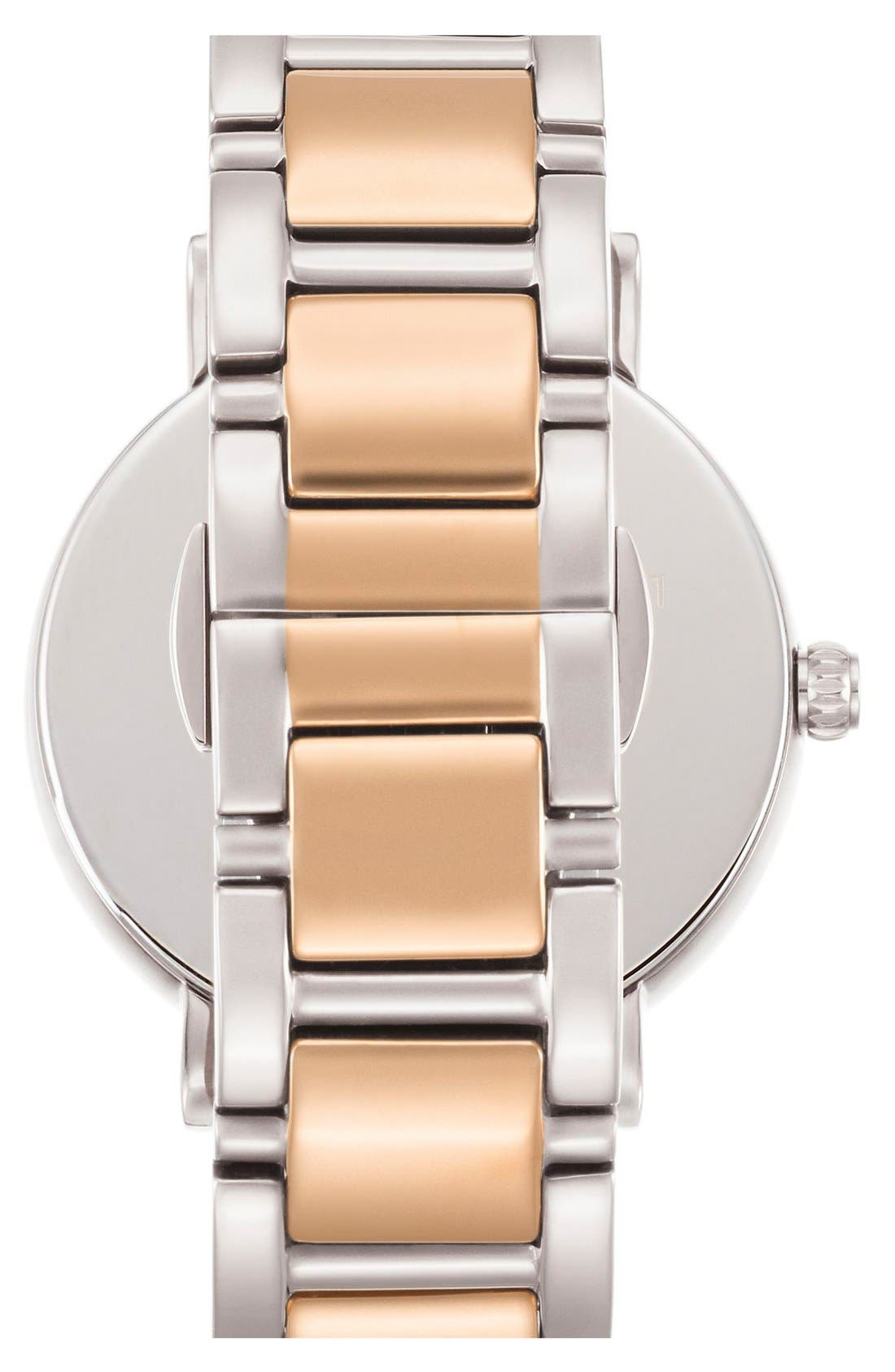 Alternate Image 2  - kate spade new york 'gramercy' mother-of-pearl bracelet watch, 34mm