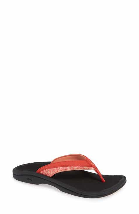 9e4d87d2dc96 Women s Orange Flat Heeled Sandals