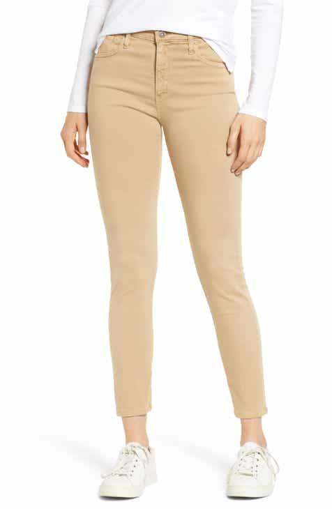 eb3b16dea36 AG Farrah High Waist Ankle Skinny Jeans