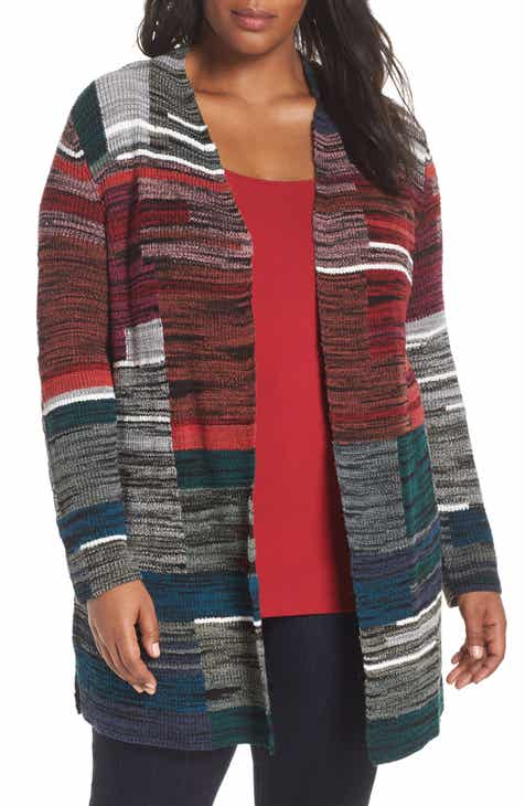 4de4ebd10951 NIC+ZOE Total Eclipse Cardigan (Plus Size)