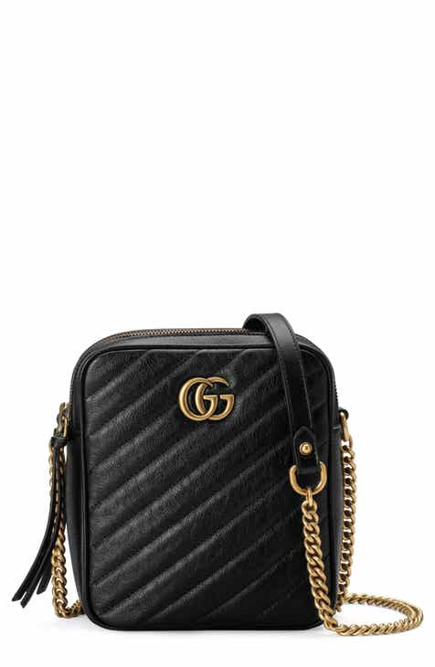 5424582fe40 Gucci Mini Marmont 2.0 Leather Crossbody Bag