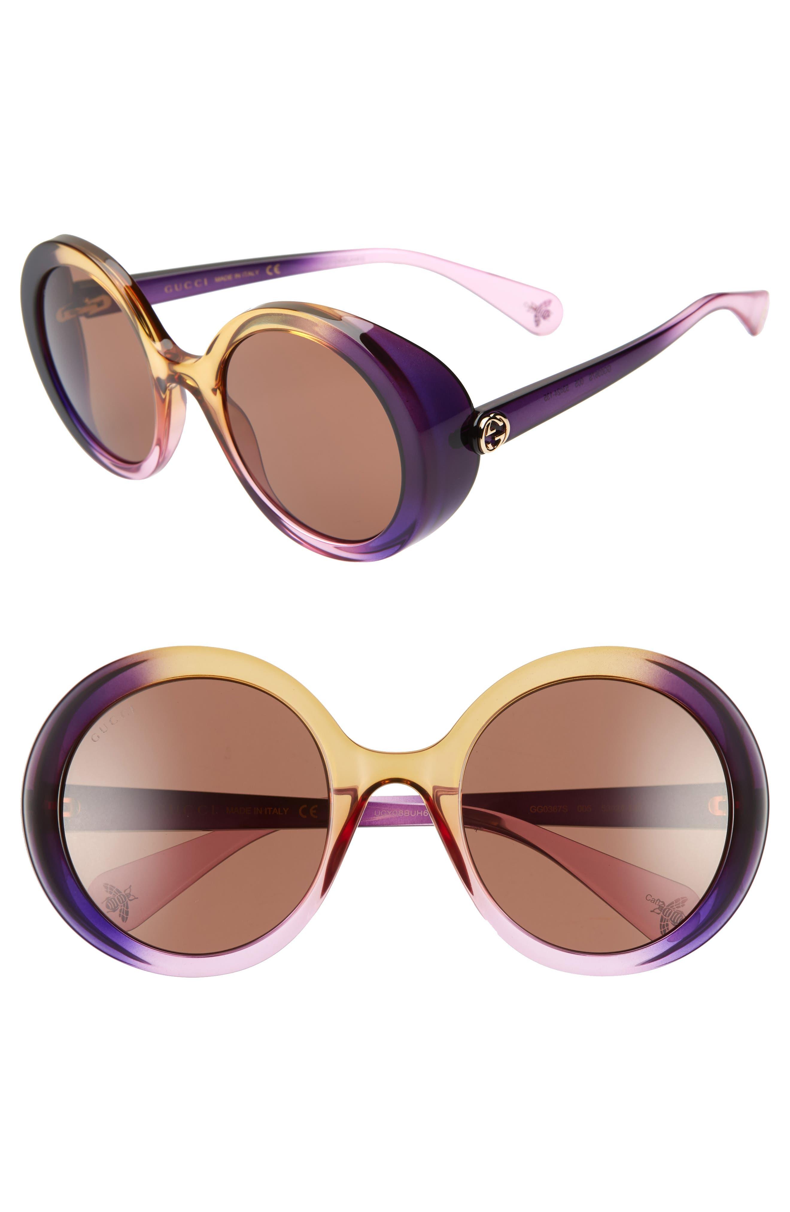 7c0ef980f7 Prada Cat Eye Hexagon Fantasy Purple Sunglasses New SPR05P. 1234567