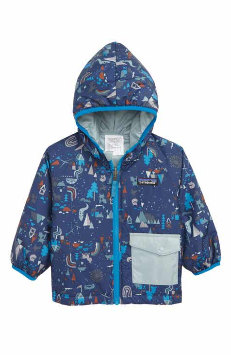 b434e19837f Patagonia Puff-Ball Reversible Water Resistant Thermolite® Insulated Jacket  (Baby Boys)
