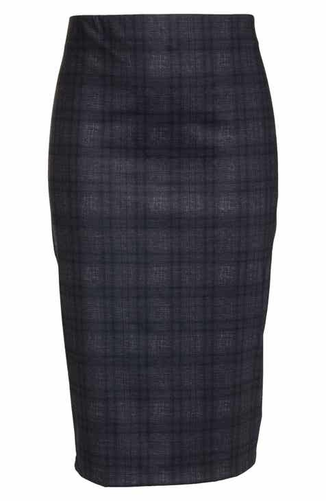 cd21144cd9f Sejour Ponte Pencil Skirt (Plus Size)
