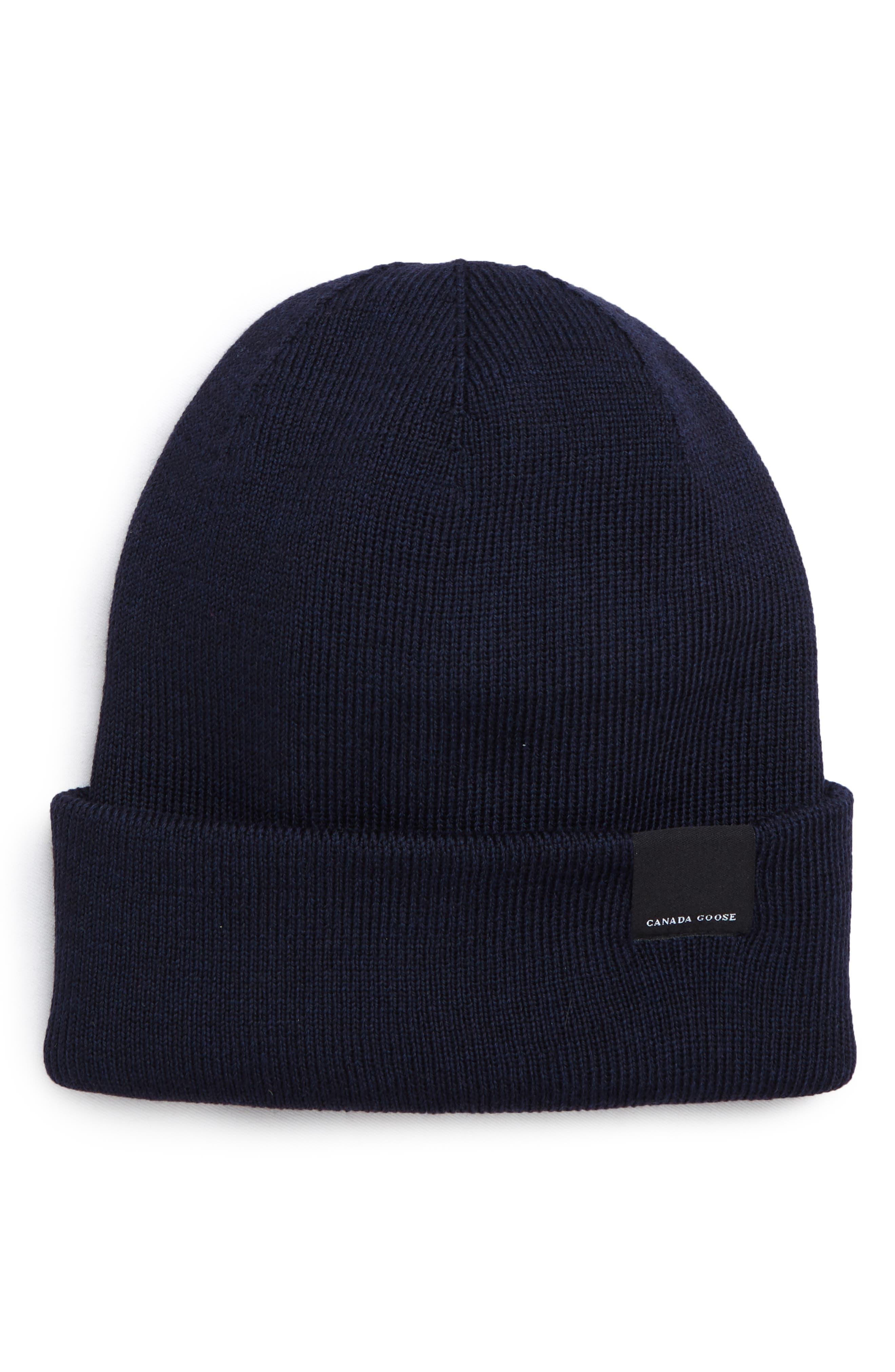 56d8d50ef19 Men s Canada Goose Beanies  Knit Caps   Winter Hats
