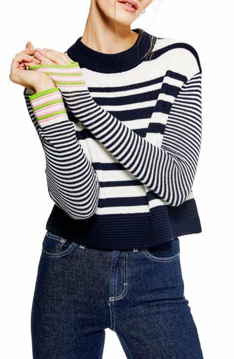 31ad58c683c9a Topshop Cash Ottoman Crop Sweater