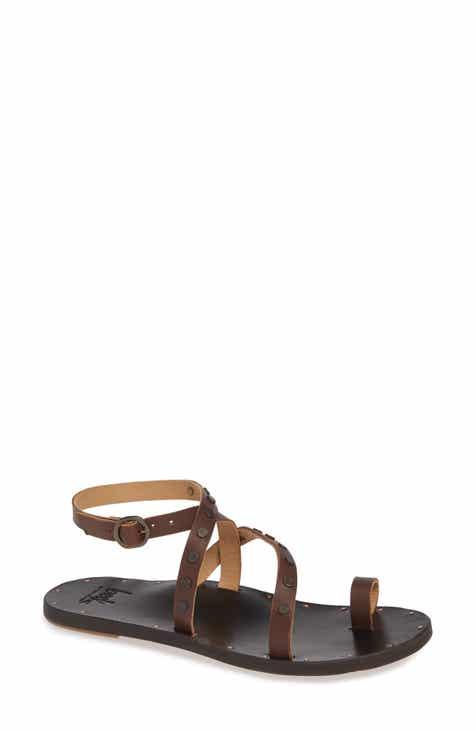 0d2feb67354c Beek Lorikeet Studded Strappy Flat Sandal (Women)