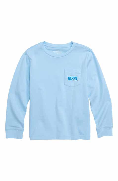 8be1a9f0ad1859 vineyard vines Ski Knockout Whale Pocket T-Shirt (Big Boys)