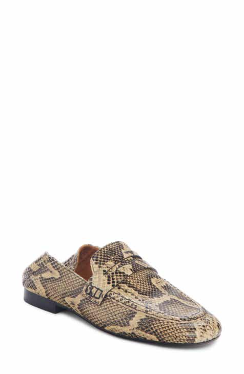 b7a3cbbf5b5 Isabel Marant Fezzy Snakeskin Embossed Convertible Loafer (Women)
